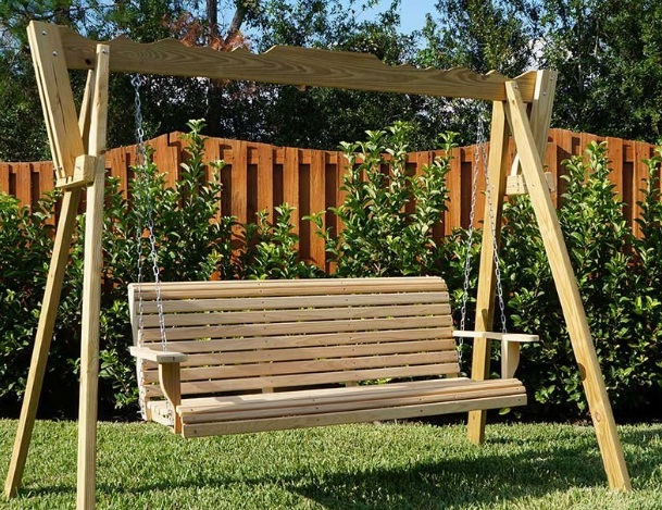 Best Porch Swings Reviews (45+ Outdoor Swings) 2020 Regarding Lamp Outdoor Porch Swings (View 6 of 20)