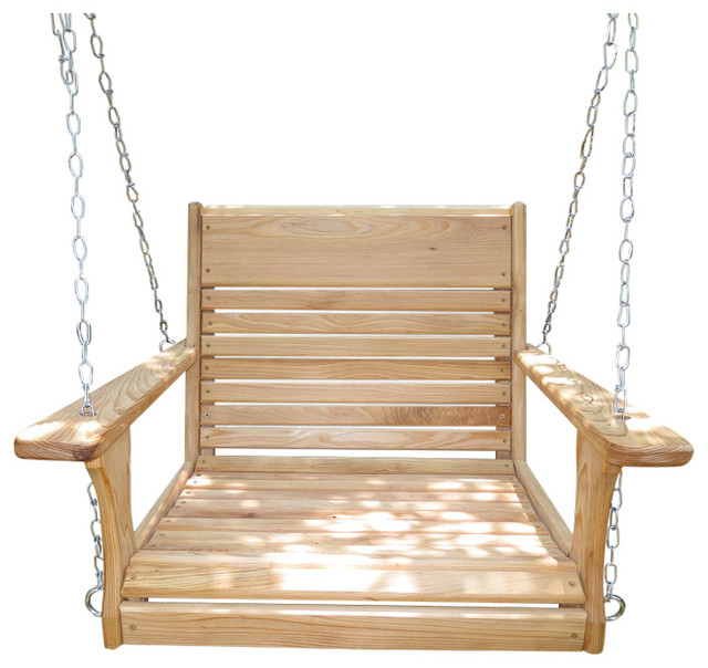 Big Guy Adult Chair Swing With Chain Hanging Kit Within Porch Swings With Chain (#1 of 20)
