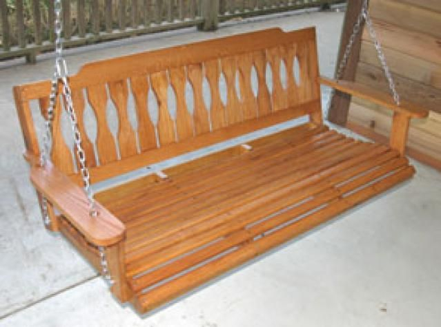 Build A Wooden Porch Swing With These Free Plans: Classic With Regard To Classic Porch Swings (View 16 of 20)