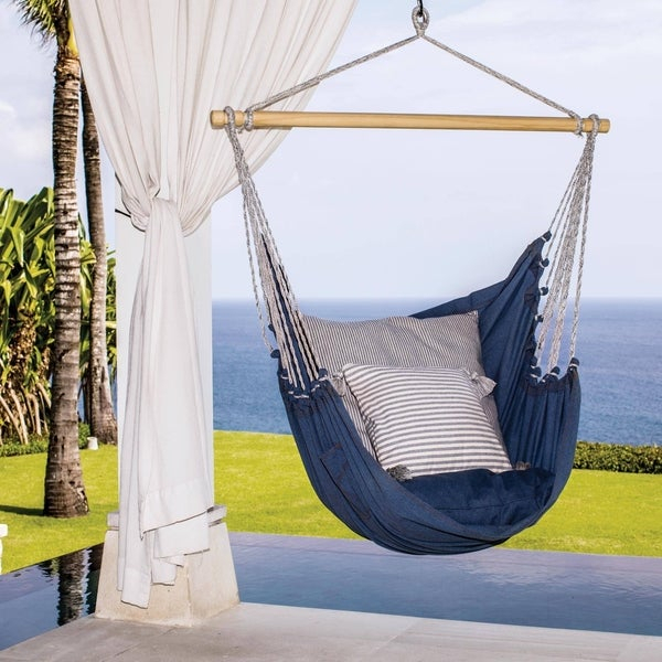 Buy Cotton Hammocks & Porch Swings Online At Overstock | Our Intended For Cotton Porch Swings (View 7 of 20)