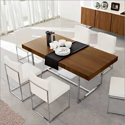 Calligaris Modern Rectangular Dining Table With Sturdy Inside Current Contemporary Rectangular Dining Tables (View 10 of 20)