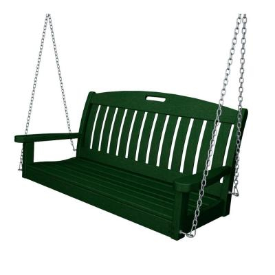 Cambridge Casual Thames White Wood Porch Swing Hd 130228 Wh Intended For Casualthames White Wood Porch Swings (View 6 of 20)