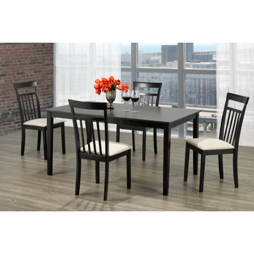 Popular Photo of Cappuccino Finish Wood Classic Casual Dining Tables