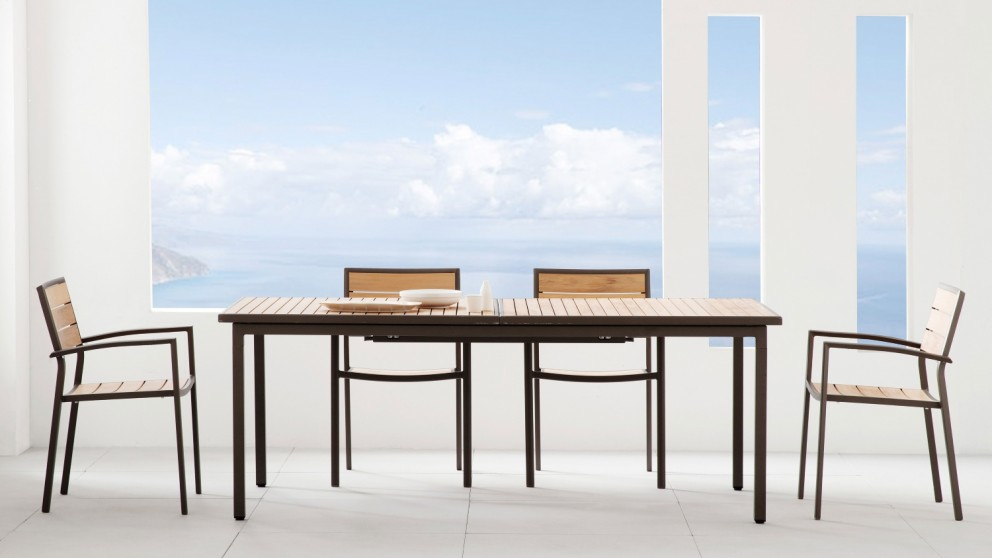 Capri Extension Dining Table – Natural Throughout Most Up To Date Extension Dining Tables (#2 of 20)