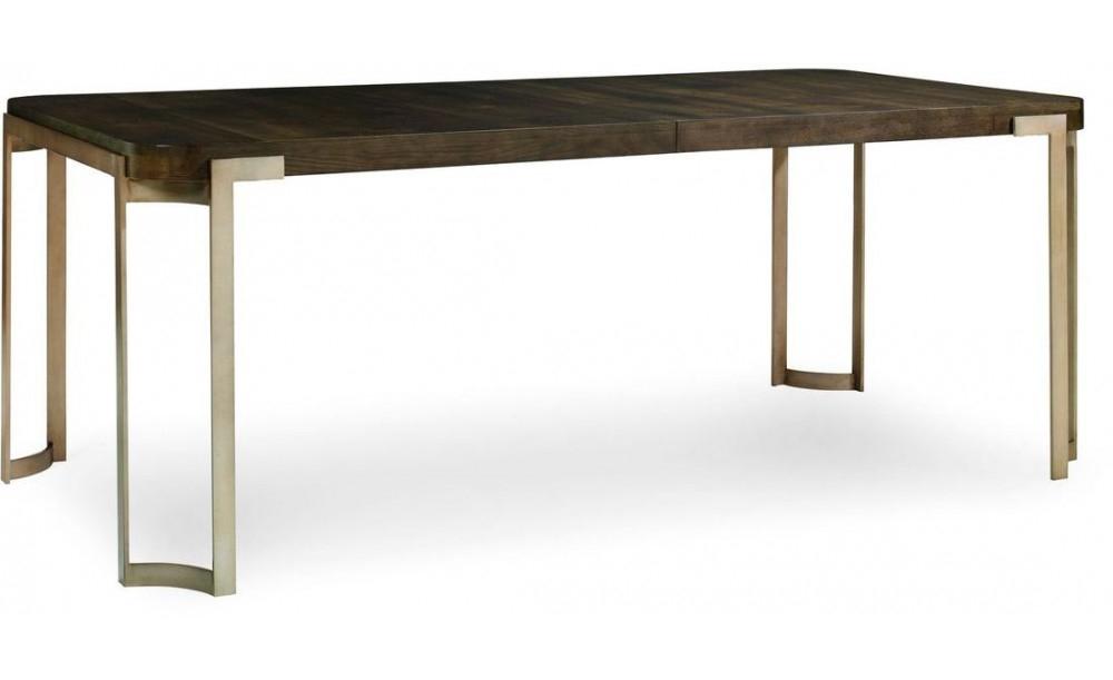Caracole Modern Artisans Dining Table, Dark Fumed Oak – Clearance Sale Regarding Well Known Fumed Oak Dining Tables (#4 of 20)