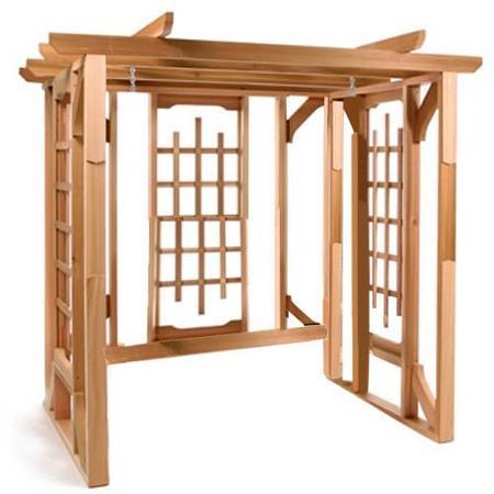 Cheap Cedar Swing Sets, Find Cedar Swing Sets Deals On Line Throughout A4 Ft Cedar Pergola Swings (View 14 of 20)