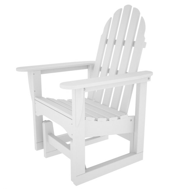 Classic Adirondack Glider Chair (pw) In Classic Adirondack Glider Benches (View 14 of 20)