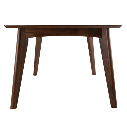 Coaster Contemporary 6 Seating Rectangular Casual Dining Tables Throughout Famous Coaster Contemporary 6 Seating Rectangular Casual Dining Table – Dark Walnut (View 16 of 20)