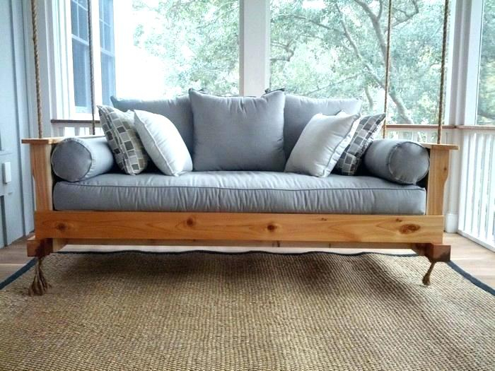 Comfortable Porch Swings On Sale – Mahra Throughout Daybed Porch Swings With Stand (#3 of 20)