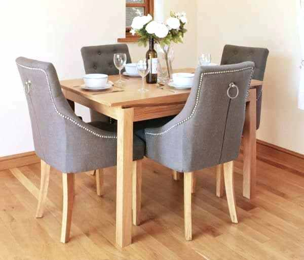 Contemporary 4 Seating Square Dining Tables Intended For Most Up To Date 4 Seat Dining Table Seater Set Urban Ladder Round Tables For (#7 of 20)