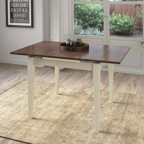 Contemporary 4 Seating Square Dining Tables Within Favorite Dillon Contemporary 4 Seating Square Dining Table – Brown/cream (#8 of 20)