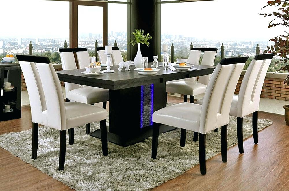 Contemporary 6 Seating Rectangular Dining Tables For Most Recent Modern Dining Table And Chairs – Rioko (#6 of 20)