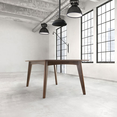 Contemporary 6 Seating Rectangular Dining Tables Within Most Current Coaster Contemporary 6 Seating Rectangular Casual Dining Table – Dark Walnut (#10 of 20)