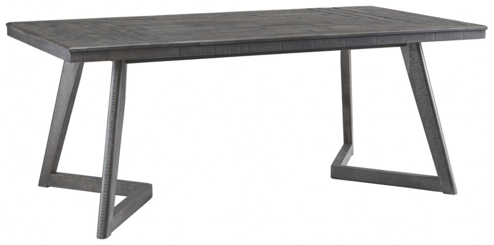 Current Besteneer – Dark Gray – Rectangular Dining Room Table Intended For Rectangular Dining Tables (#4 of 20)