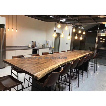 Customized Long Whole Piece Tree Log Walnut Wood Slab Walnut Slab Live Edge Table Top Dining Tables – Buy Dining Tables,live Edge Dining Regarding Favorite Wood Top Dining Tables (View 2 of 20)