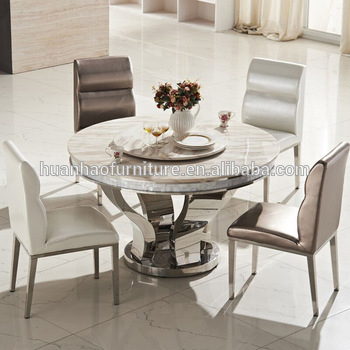 Inspiration about Dh 824 Newest Fashion Elegance Marble Round Dining Table Malaysia – Buy  Round Marble Dining Table Malaysia,large Round Dining Table,marble Round Intended For Fashionable Elegance Large Round Dining Tables (#6 of 20)