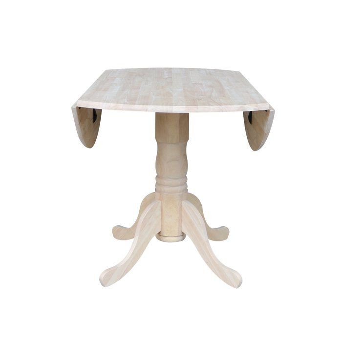 Inspiration about Dining Inside Current Unfinished Drop Leaf Casual Dining Tables (#4 of 20)