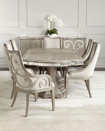Inspiration about Dining Room Furniture At Horchow Regarding Most Recently Released Transitional 4 Seating Square Casual Dining Tables (#16 of 20)