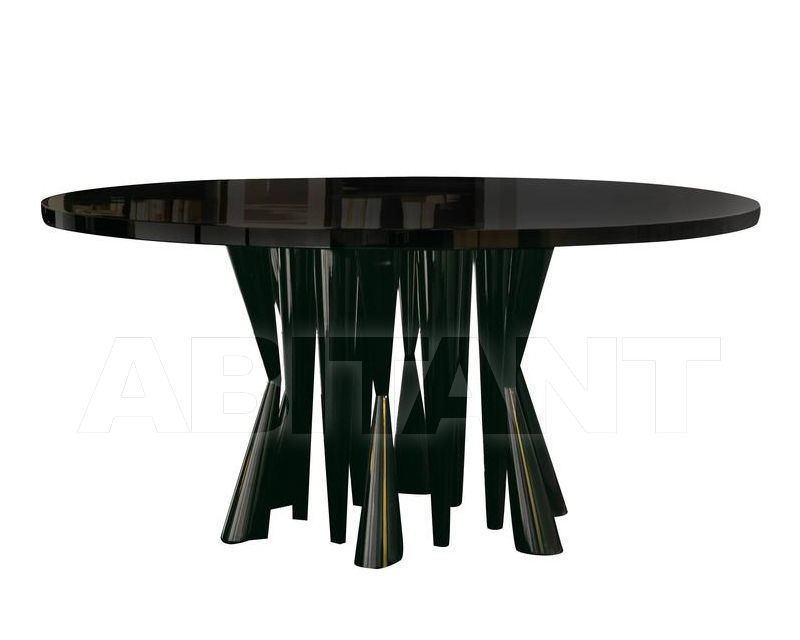 Inspiration about Dining Table Brown Dom Edizioni Robin Dinner Table Round Within Newest Dom Round Dining Tables (#5 of 20)