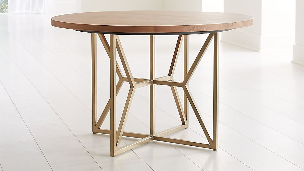 Inspiration about Dining Table In In Most Recent Acacia Top Dining Tables With Metal Legs (#9 of 20)