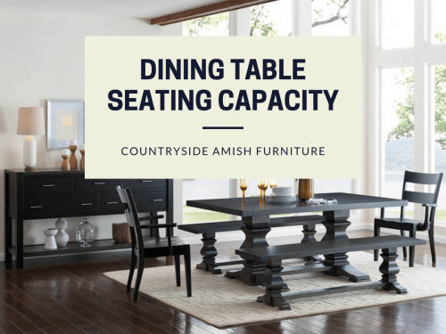 Inspiration about Dining Table Size & Seating Capacity Guide (#15 of 20)