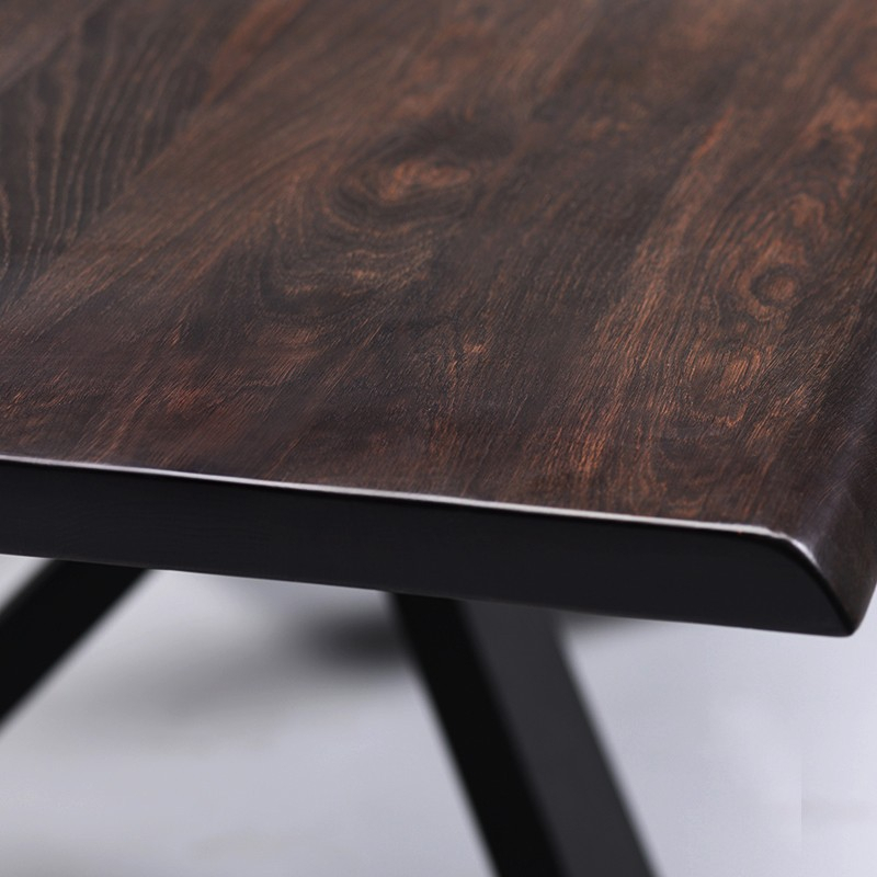 Inspiration about Dining Tables In Seared Oak In Trendy Couture – Nuevo (#18 of 20)