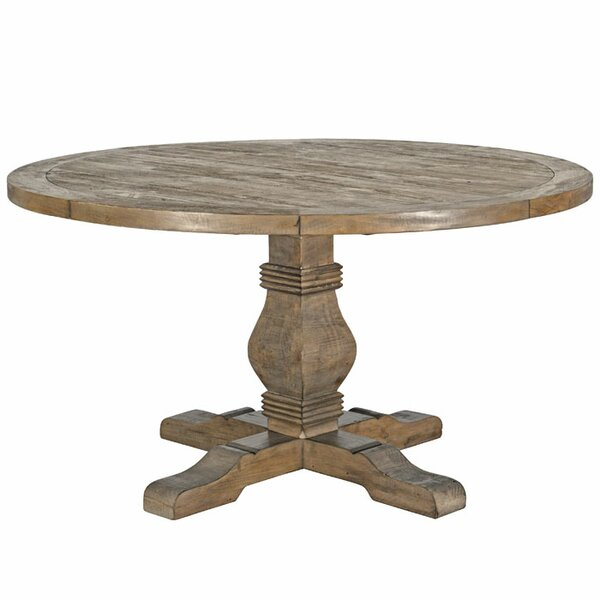 Inspiration about Distressed Walnut And Black Finish Wood Modern Country Dining Tables Intended For Well Known Kitchen & Dining Tables (#20 of 20)