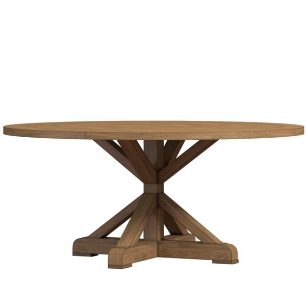 Distressed Walnut And Black Finish Wood Modern Country Dining Tables With Regard To Popular Dining Tables (View 9 of 20)