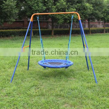 Inspiration about Dks Metal Ourdoor Nest Swing Sets For Adult, Rope Swing Inside Nest Swings With Adjustable Ropes (#4 of 20)