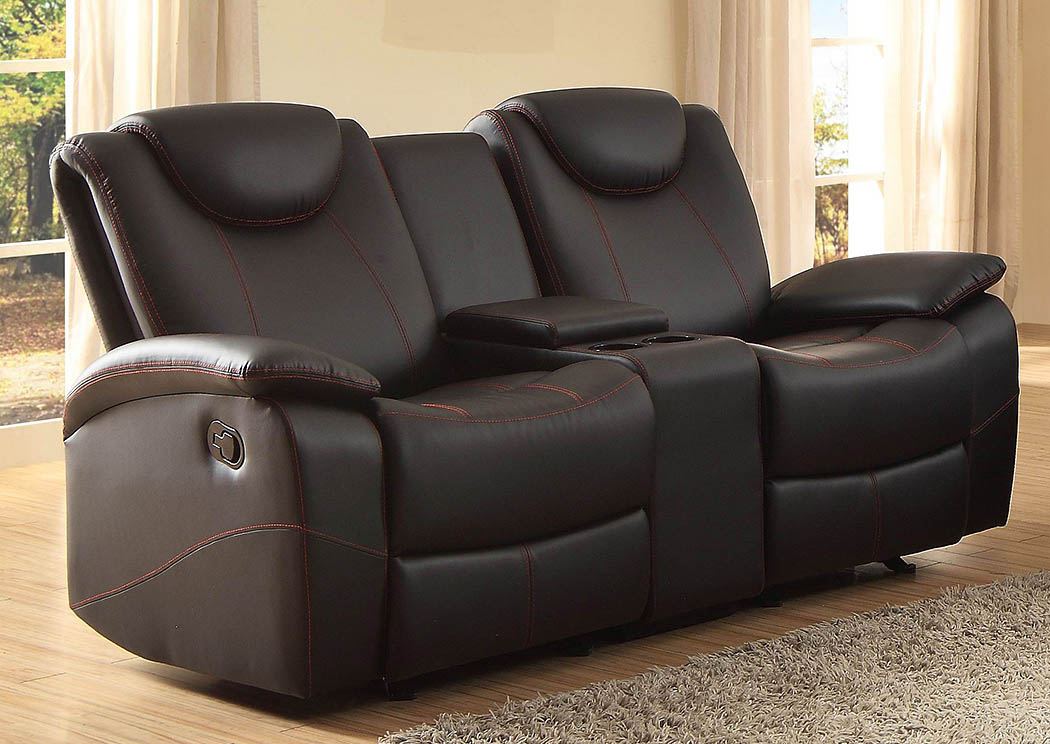 D&n Furniture – Scranton, Pa Talbot Black Double Glider For Double Glider Loveseats (#4 of 20)