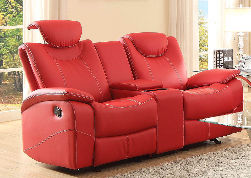 D&n Furniture – Scranton, Pa Talbot Red Double Glider Intended For Double Glider Loveseats (#5 of 20)