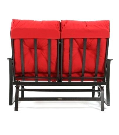 Inspiration about Double Glider Cushions – Linksearcher In Aluminum Outdoor Double Glider Benches (#11 of 20)