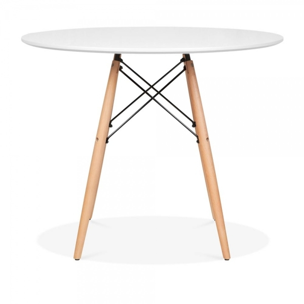 Popular Photo of Eames Style Dining Tables With Wooden Legs