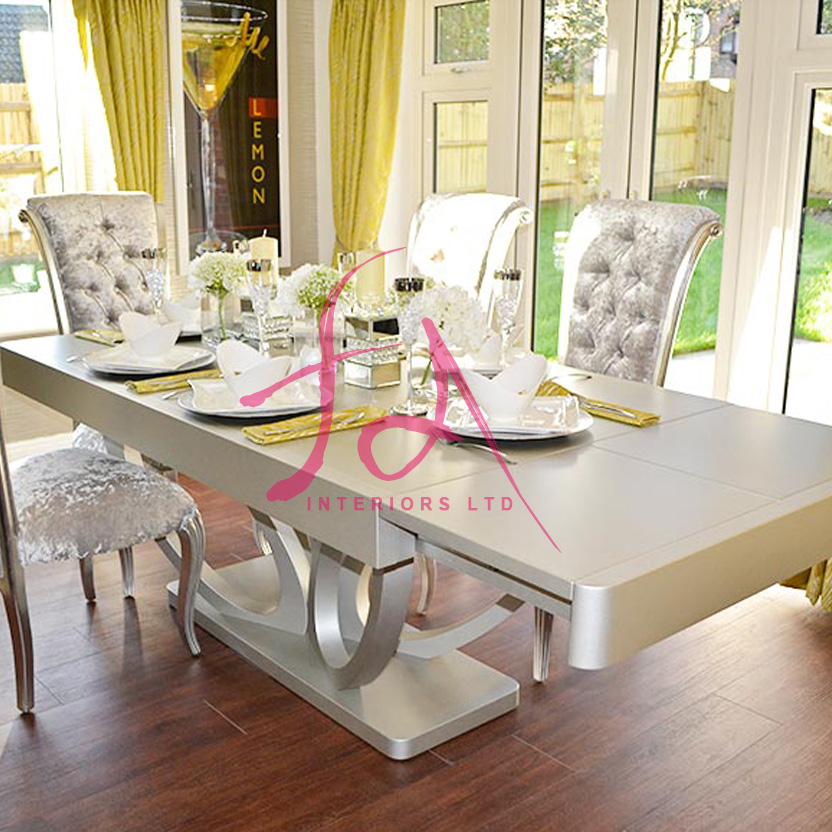 Eclipse Dining Tables In Fashionable Eclipse Bespoke High Gloss Or Wood Veneer 3M Dining Table (#7 of 20)