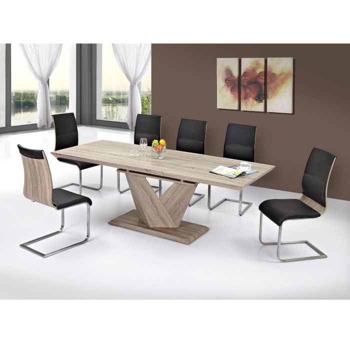Eclipse Dining Tables Intended For Recent Eclipse/veneta 7Pc Dining Set (#11 of 20)