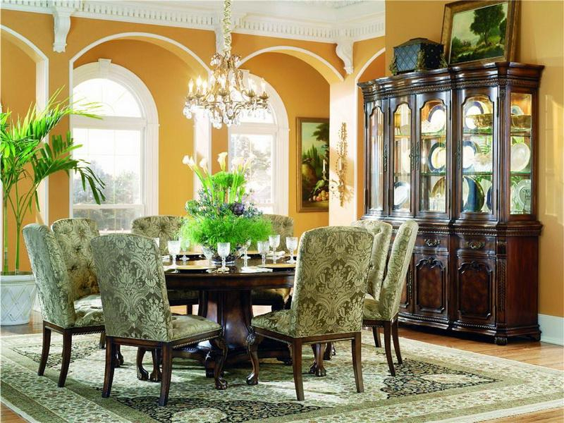 Elegance Large Round Dining Tables Intended For Most Up To Date The Large Round Dining Table For  (#5 of 20)