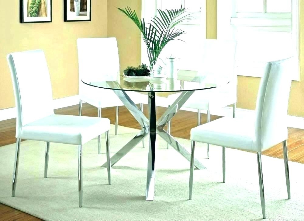 Elegance Large Round Dining Tables Throughout Popular Dinner Table Centerpiece Ideas Round Dining Room Living (#8 of 20)