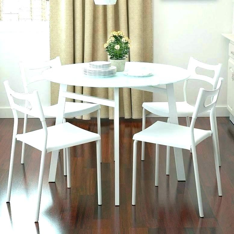 Elegance Small Round Dining Tables Throughout Most Current Small White Dining Table – Markkinointi (#7 of 20)