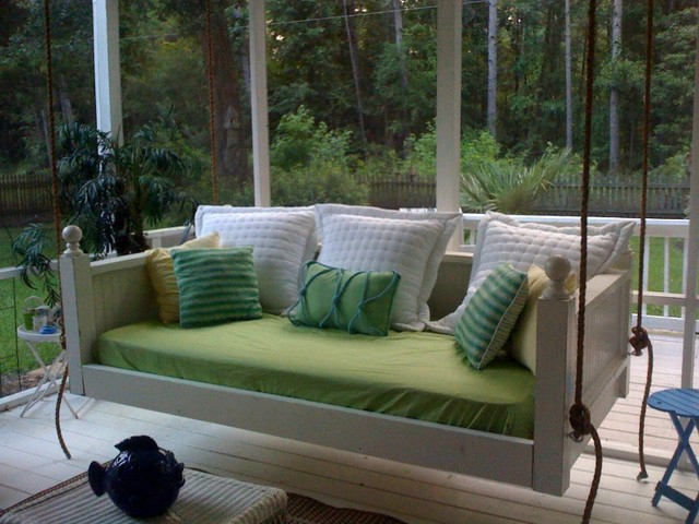 Emerson Bed Swing From Vintage Porch Swings – Charleston Sc Regarding Porch Swings (#9 of 20)