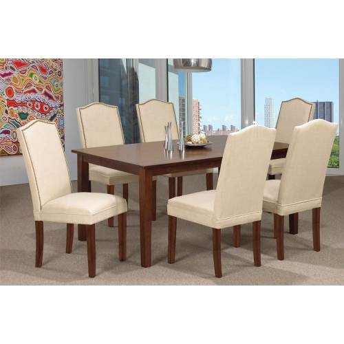 Espresso Finish Wood Classic Design Dining Tables With Fashionable Espresso Finish Wood Classic Design Dining Table Seats  (#10 of 20)