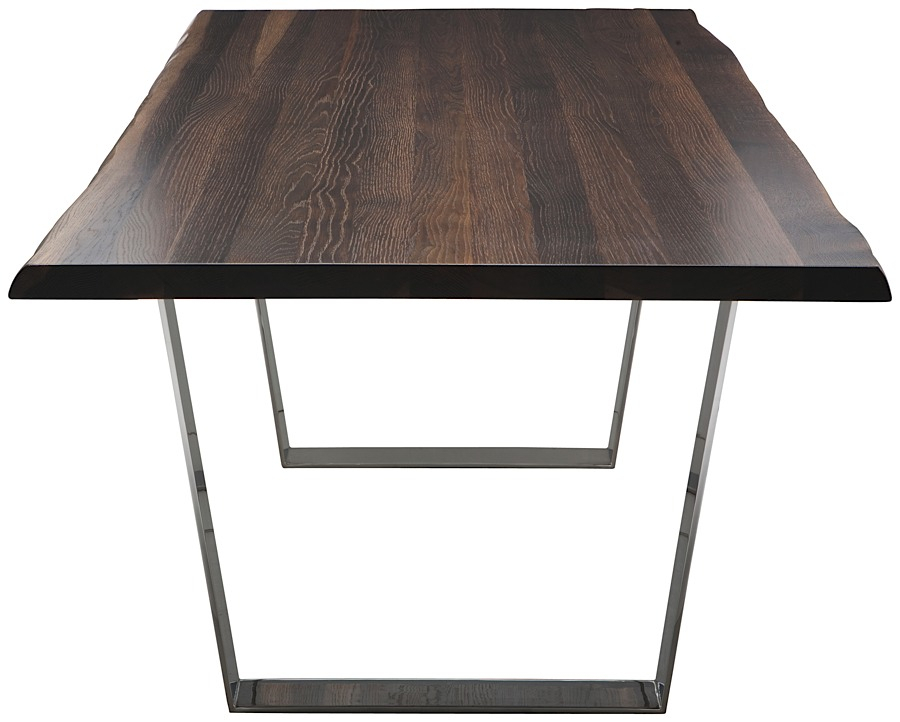 Famous Dining Tables In Seared Oak For Versailles Dining Table Seared Oak (#9 of 20)