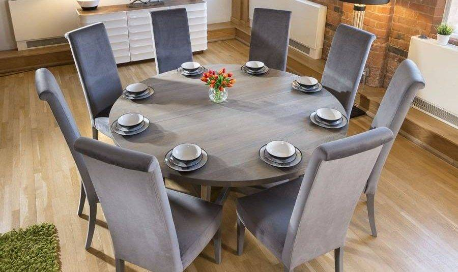 Famous Extra Large Solid Wood Dining Table Rooms Hairpin Legs White Throughout Solid Wood Circular Dining Tables White (View 14 of 20)