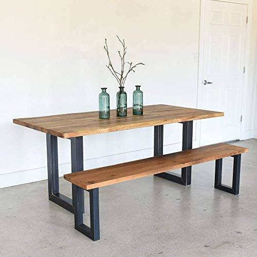 Famous Iron Wood Dining Tables With Metal Legs Intended For Appealing Wood Dining Table Metal Legs Round Wooden (View 6 of 20)
