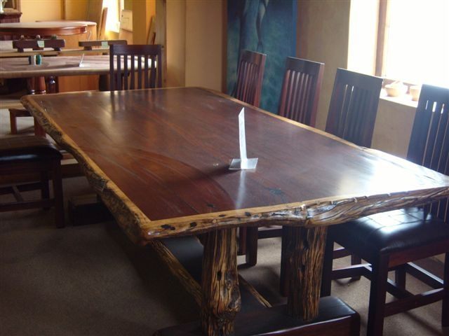 Famous Iron Wood Dining Tables Within Hand Made Dining Table Set 10 Seat Ironwoodafrican (View 12 of 20)