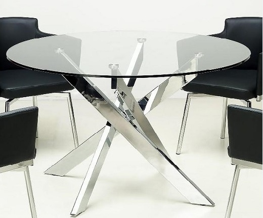 Popular Photo of Glass Top Condo Dining Tables