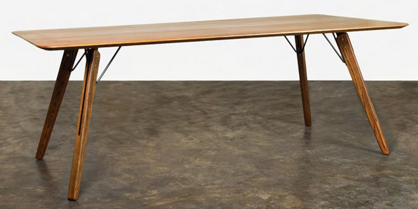 Fashionable Fumed Oak Dining Table Intended For Fumed Oak Dining Tables (#5 of 20)