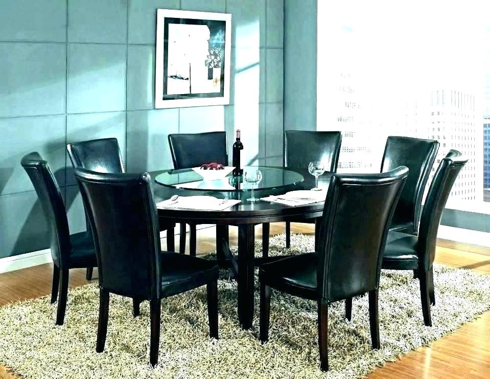 Fashionable Large Round Dining Room Table For 8 Amazing Seats With Regard To Elegance Large Round Dining Tables (#11 of 20)