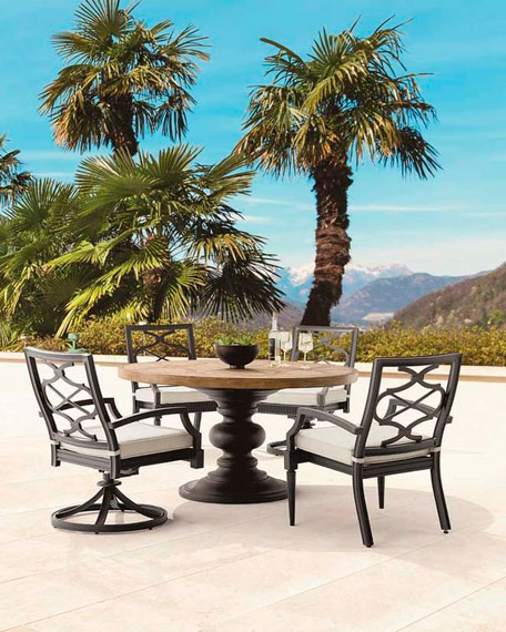 Popular Photo of Neo Round Dining Tables