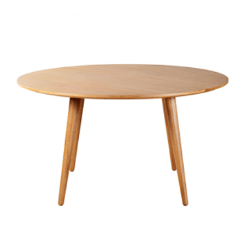 Fashionable Nordic Round Dining Table – Oriental Living Phuket & Samui Regarding Neo Round Dining Tables (View 15 of 20)