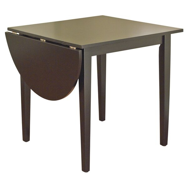 Fashionable Transitional 4 Seating Drop Leaf Casual Dining Tables Throughout Drop Leaf Dining Tables (#7 of 20)